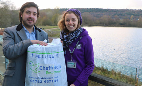 Chaffinch Document partners with Staffordshire Wildlife Trust